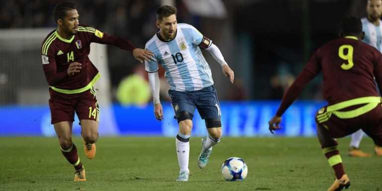 Argentina no pudo con Venezuela y Messi podría no estar en Rusia