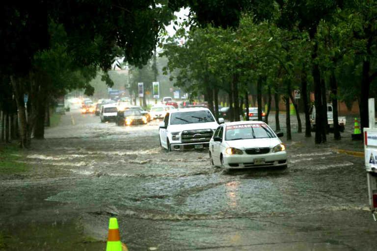 SPS: 30 minutos de lluvia dejaron 17 colonias inundadas y cinco árboles caídos