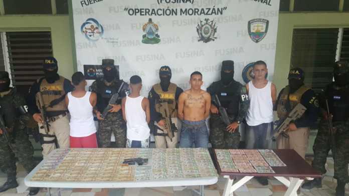 extorsionadores en Chamelecón