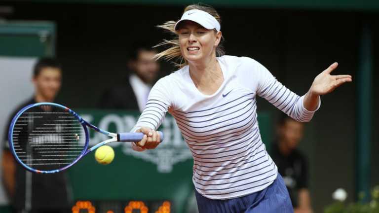 María Sharapova disputará la final de Tianjin ante Aryna Sabalenka