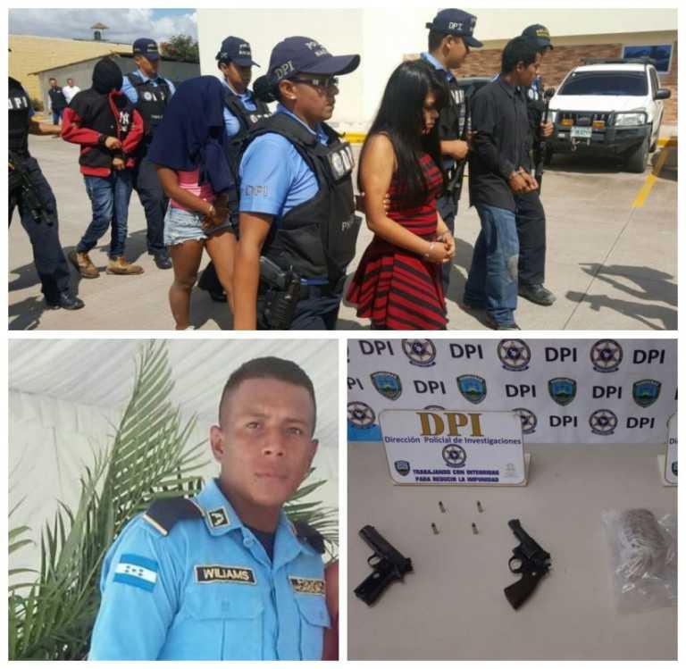 """Tegucigalpa: Caen sospechosos de haber """"ensabanado"""" a policía misquito"""