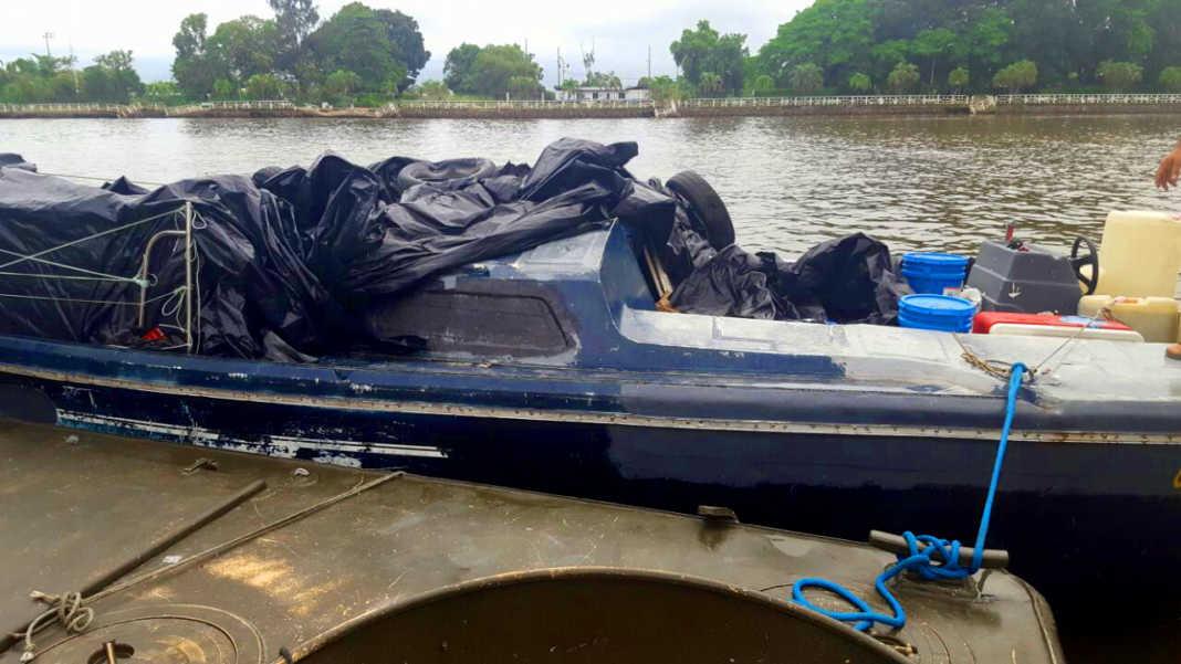 embarcación en Omoa