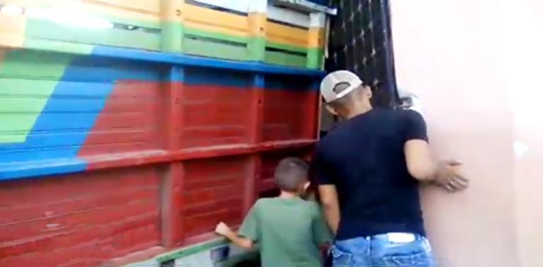 Santa Bárbara: Un camión se estrella contra una vivienda en San Luis