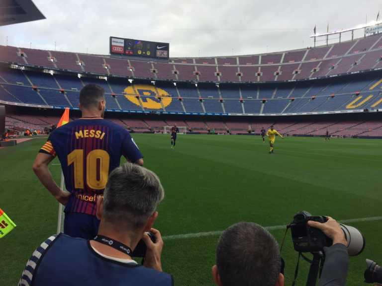 Barcelona – Las Palmas se juega a puerta cerrada en medio de Referéndum