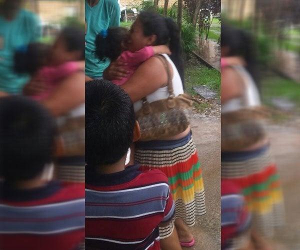 Aparece menor desaparecida en Catacamas, una mujer andaba vendiéndola