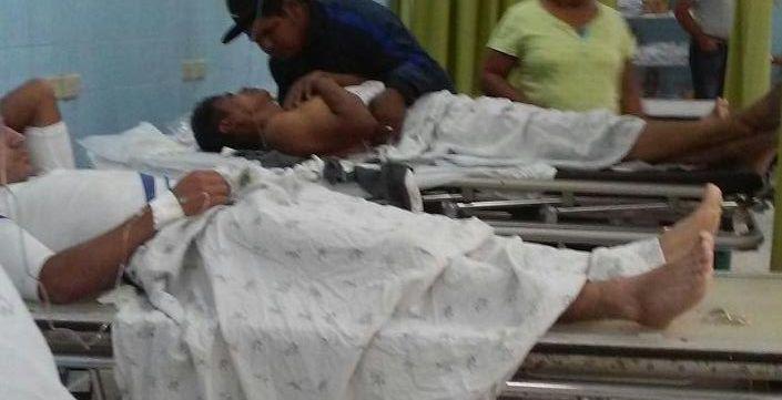 Tegucigalpa: Siete heridos deja fatal accidente en el anillo periférico
