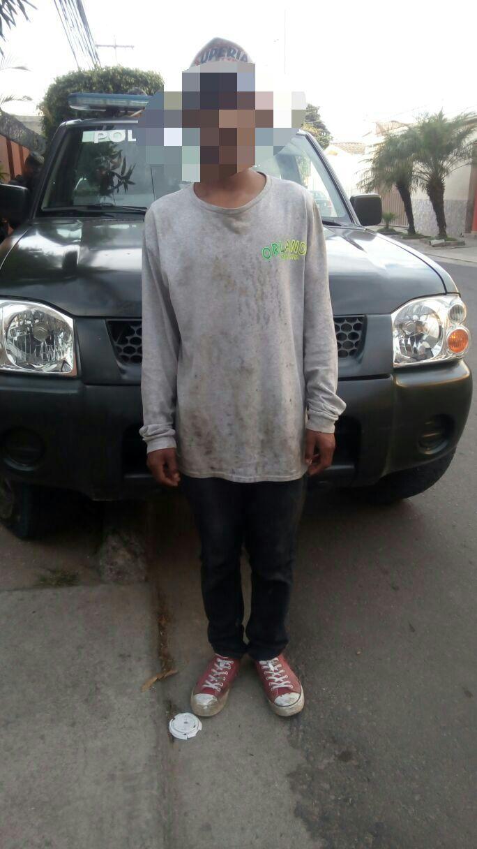 Tegucigalpa: Rescatan a joven que estaba privado de su libertad