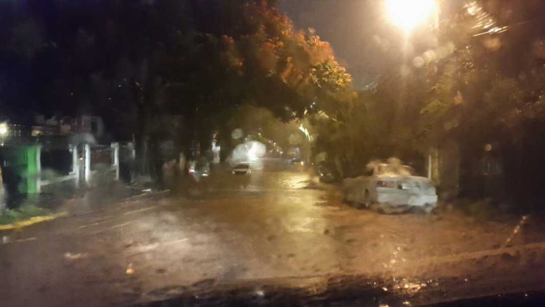 Lluvia cae sobre la capitalde Honduras