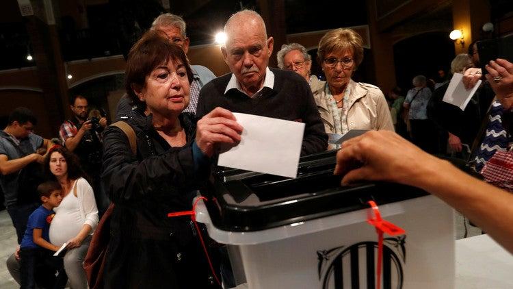 Autoridades catalanas: Un 90% de electores dijeron sí a la independencia