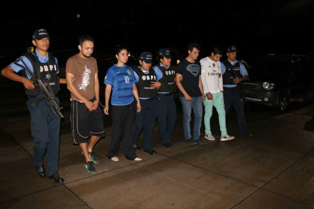Asesinos de su amigo en Tegucigalpa