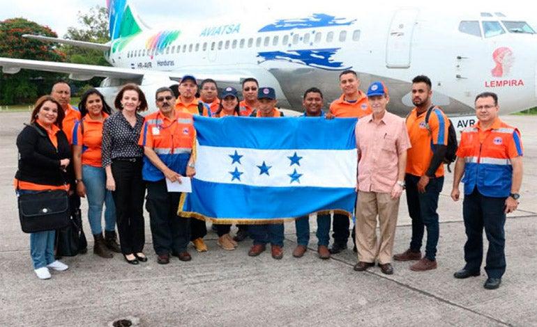 El Gobierno de Honduras envió un cargamento de ayuda humanitaria a la isla de Cuba que se recupera tras el paso del huracán Irma.