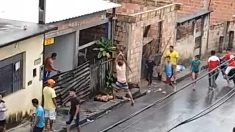 VÍDEO: por defender su madre, joven mata a palazos a su padrastro