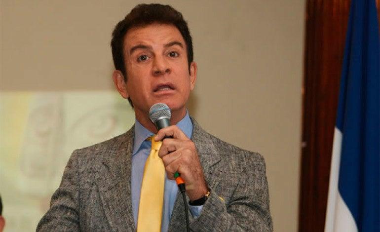 Salvador Nasralla,candidato