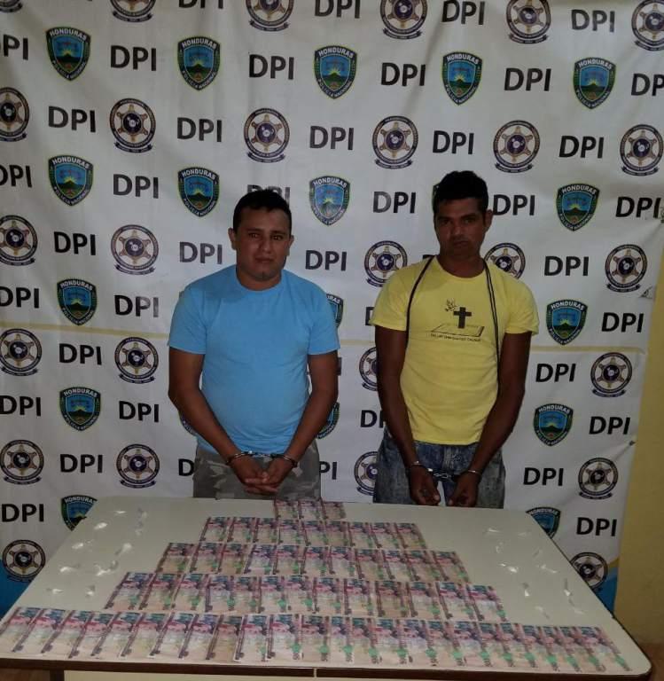 Capturados con Lps. 30 mil por tratar de sobornar agentes de la DPI