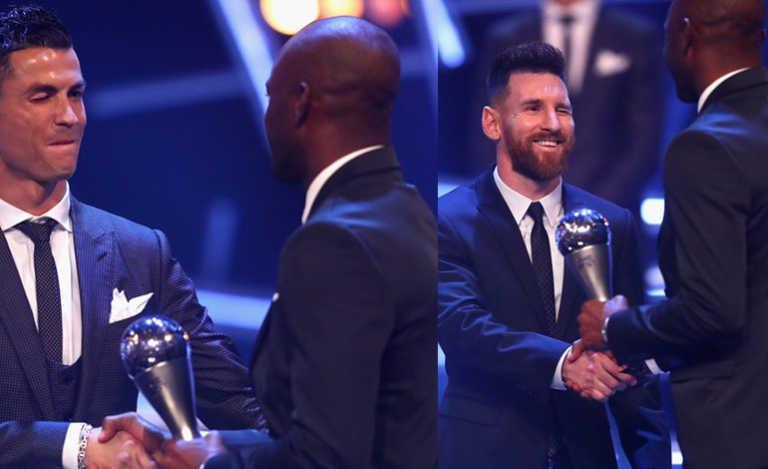 ¡Lujazo! David Suazo coqueteó con los grandes del fútbol mundial en premios The Best