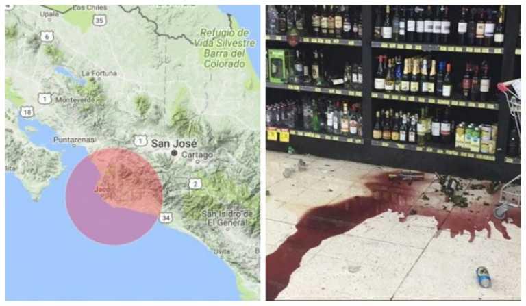 Dos personas muertas luego de terremoto en Costa Rica