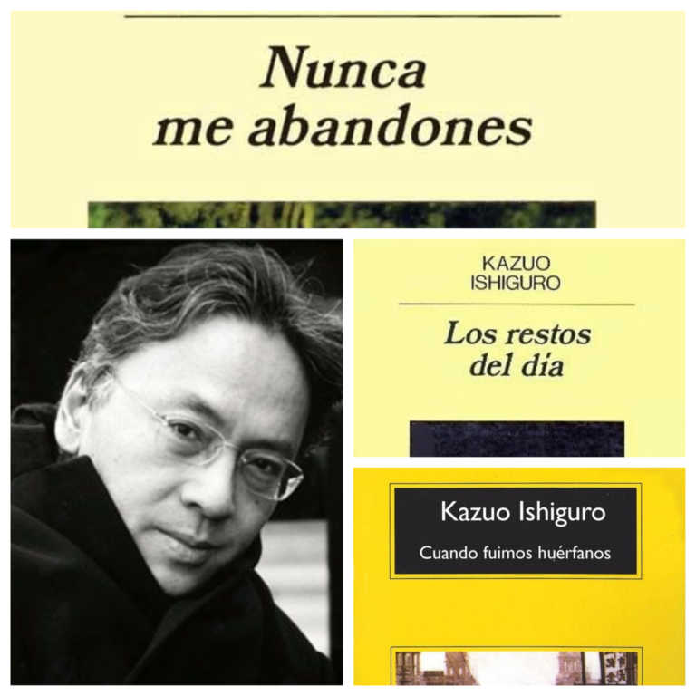 3 novelas gratis en línea de Kazuo Ishiguro, Premio Nobel de Literatura 2017