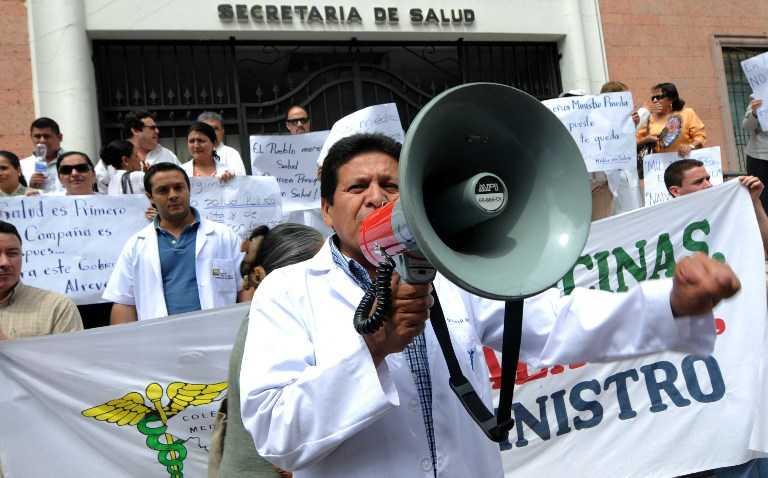 Salud: continúa crisis entre gobierno y médicos hondureños