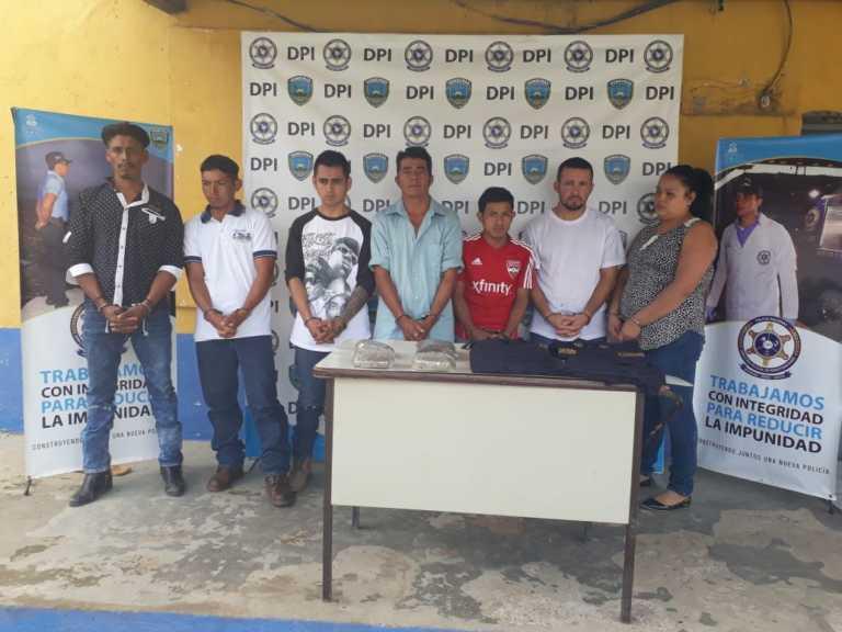 Intibucá: Policía Nacional captura seis ciudadanos por varios ilícitos