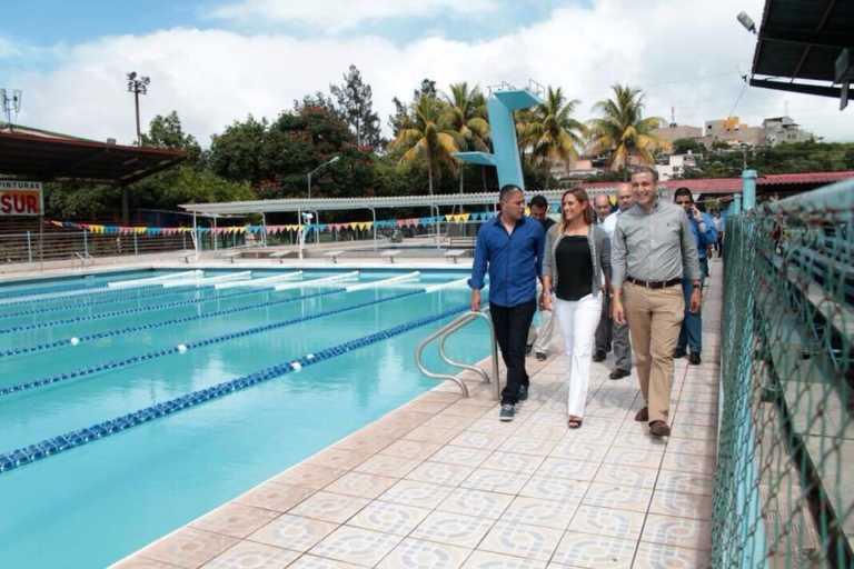 ¡Remodelación de la piscina de la Villa Olímpica es una realidad!
