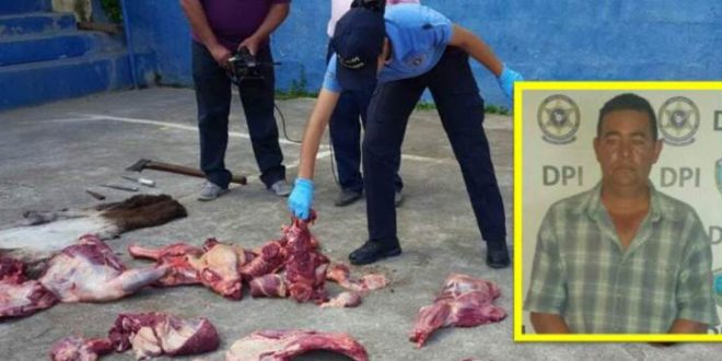 Audiencia inicial contra hombre que vendía carne de burro en El Paraíso