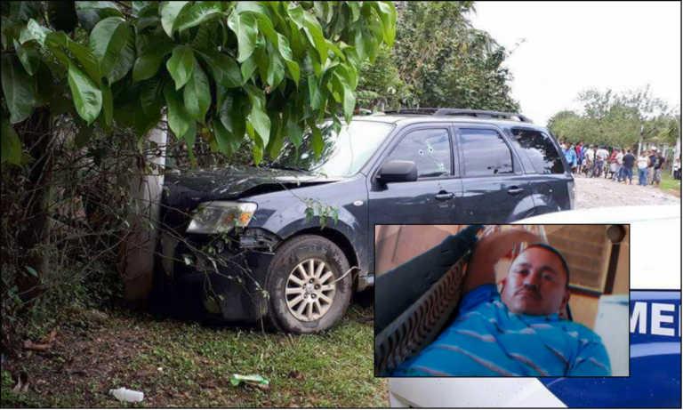 Hombre muere acribillado dentro de su vehículo en Tocoa