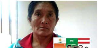 candidata a vicealcaldesa en Intibucá