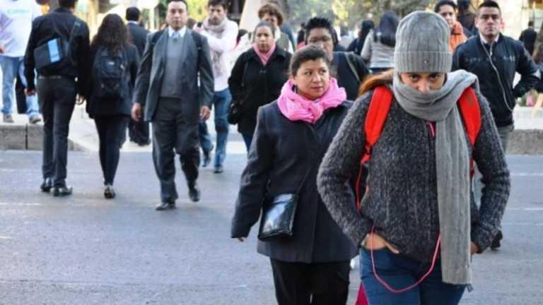 Frío continuará durante la semana en la mayor parte del país