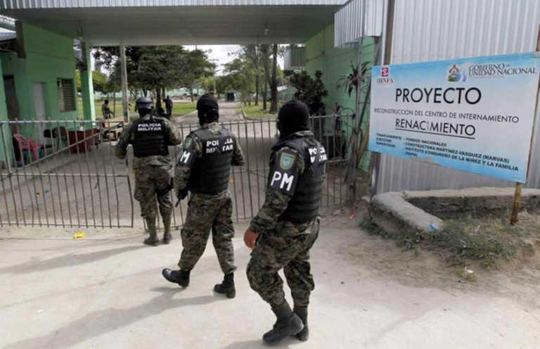 Reportan amotinamiento en Centro de Menores Renacer en Támara