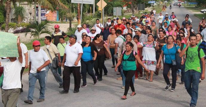 Afectados en la explosión de la Feria del Agricultor exigen resultados de investigación
