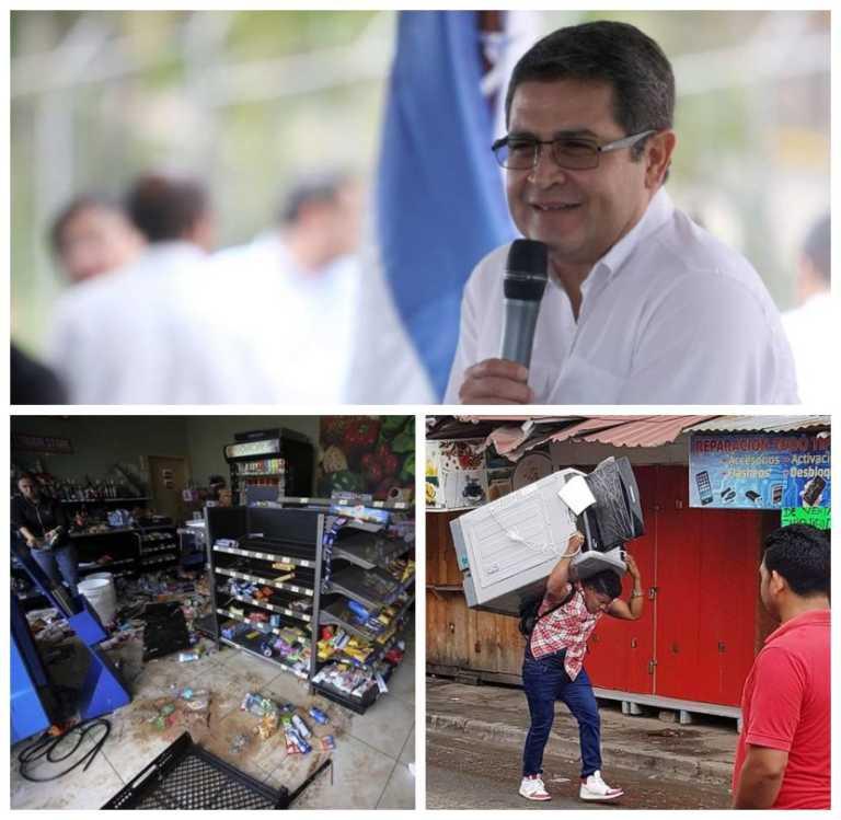 Honduras: Gobierno dará incentivos económicos a empresarios víctimas de saqueos