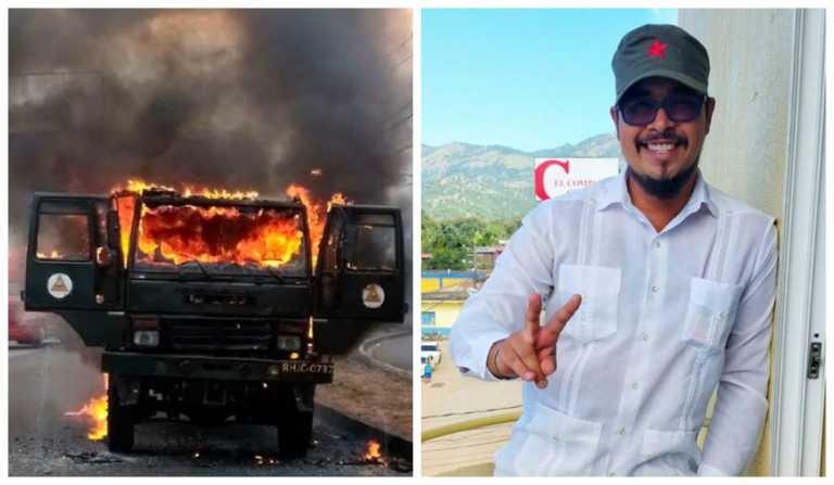 Según COFADEH, Eduardo Urbina salió del país cinco días antes del incidente