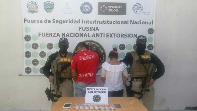 Capturan a dos menores de edad por extorsión en Tegucigalpa