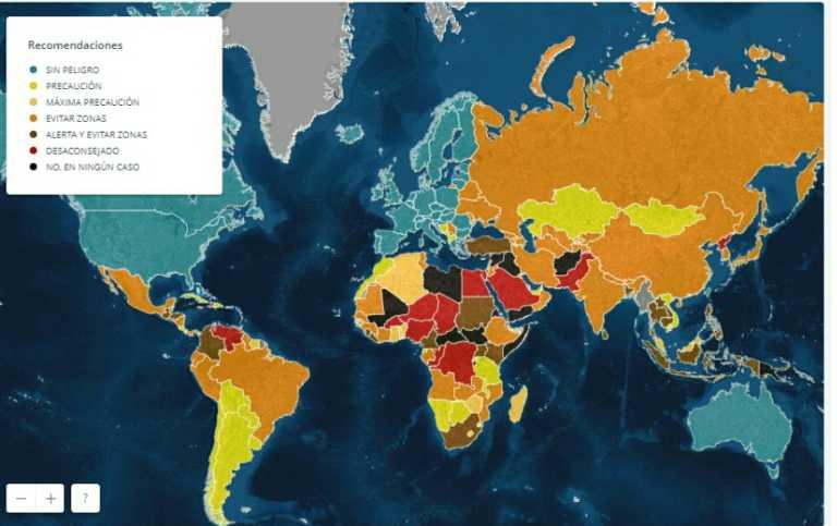 Honduras entre los países donde se recomienda viajar con extrema precaución