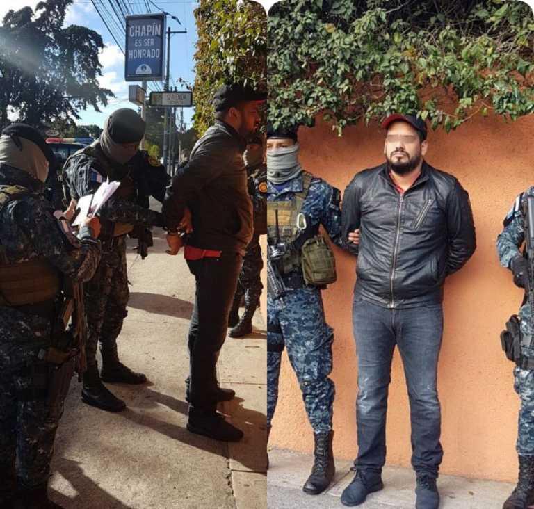 Capturan en Guatemala a hondureño pedido por EUA