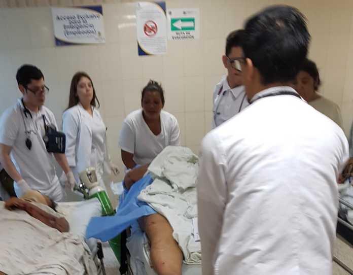 accidente en la carretera al sur de Honduras