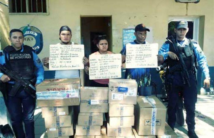 Choluteca: Caen tres nicaragüenses por contrabando de medicinas
