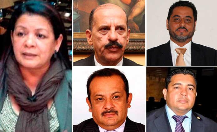A audiencia inicial los diputados involucrados en presunta corrupción