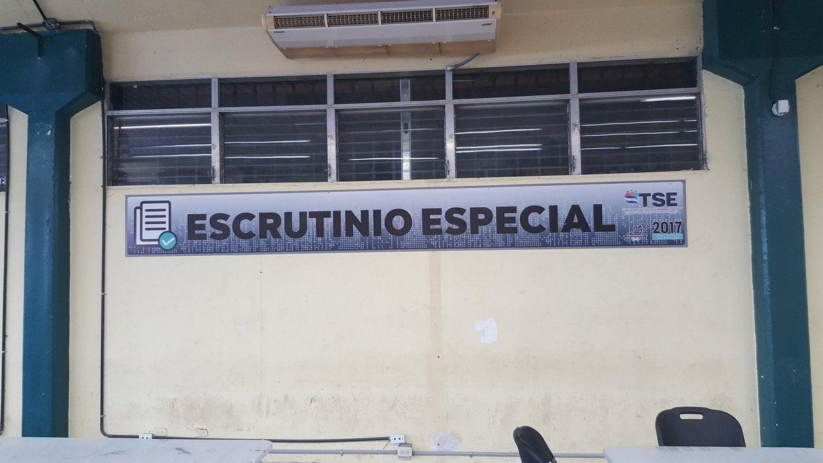 escrutinio especial