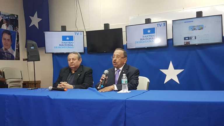 """Partido Nacional """"no acepta las palabras del secretario general de la OEA"""""""