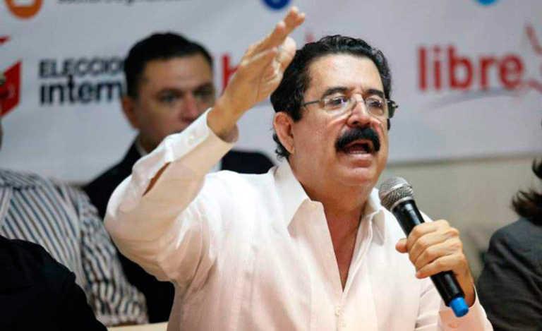 """Zelaya tilda de """"doble discurso"""" informe final de la OEA sobre elecciones"""