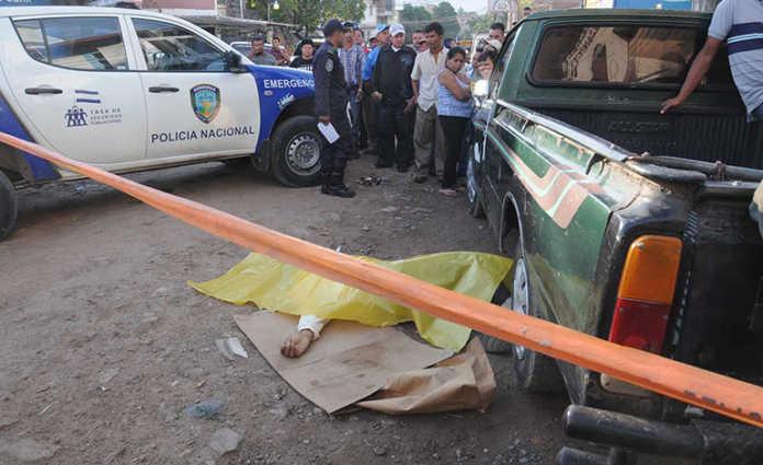 Asesinan a un hombre en el mercado del Zonal Belén