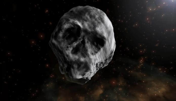 Aterrador asteroide