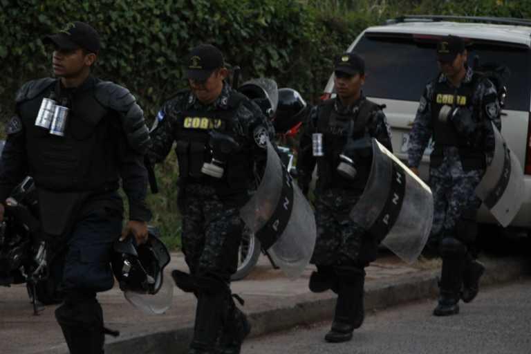 Honduras: Más de 130 agentes de la DNFE salieron por retiro voluntario