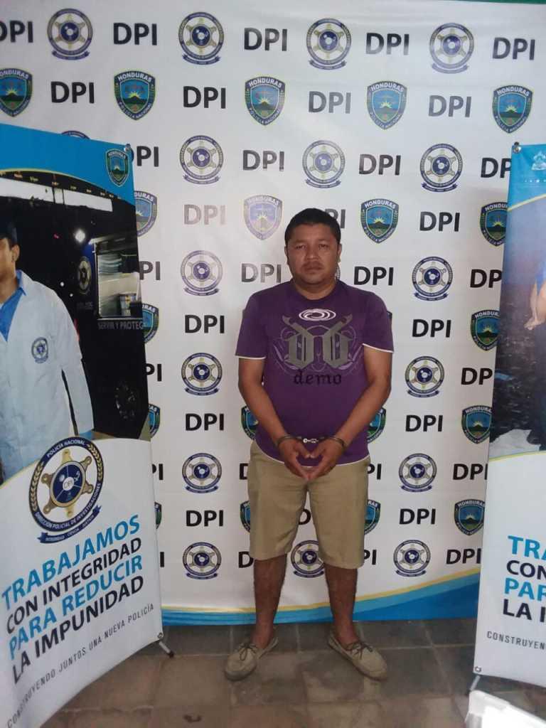 Capturan a hombre por el presunto delito de violación en el sur de Honduras