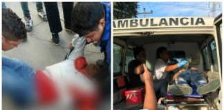 manifestantes heridos en Villanueva