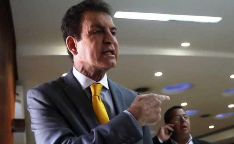 Conferencia: Salvador Nasralla no define su futuro político en Honduras