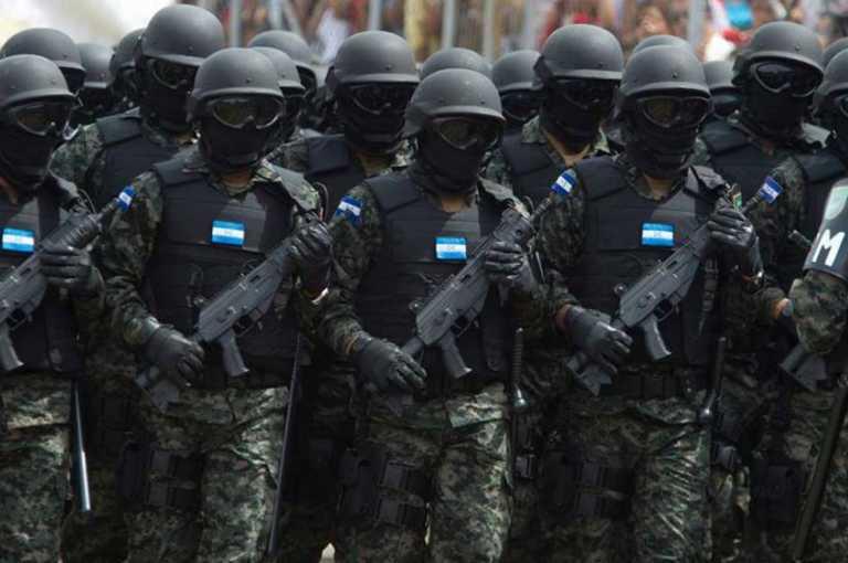 501 hondureños detenidos luego del toque de queda