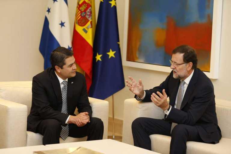 El gobierno de España reconoce a JOH como presidente electo