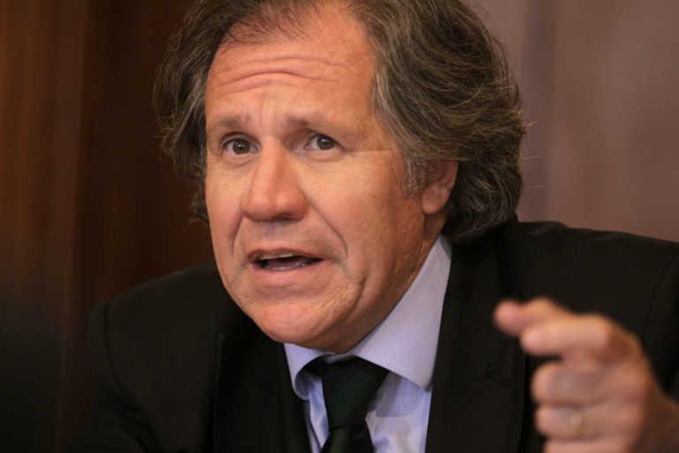 Almagro ratifica que resultados de las elecciones no dan certidumbre